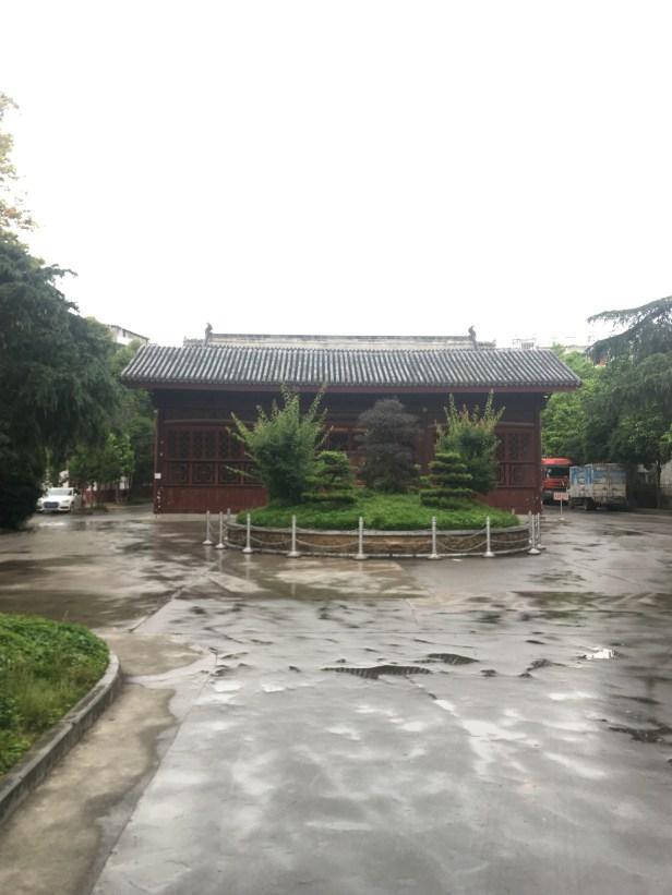 Wanshou gong 萬壽 宮/ Jiangxi huiguan 江西會館. Entrance