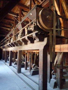 Le moulin de bois du couvent Sant'Antonino à Palerme