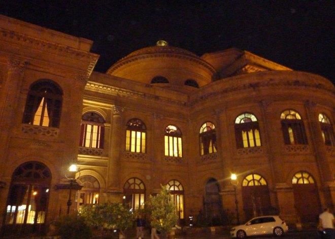 Le Teatro Massimo de Palerme