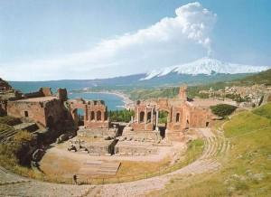 Греческий театр, Таормина