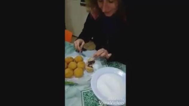 Video ricetta arancine al cioccolato