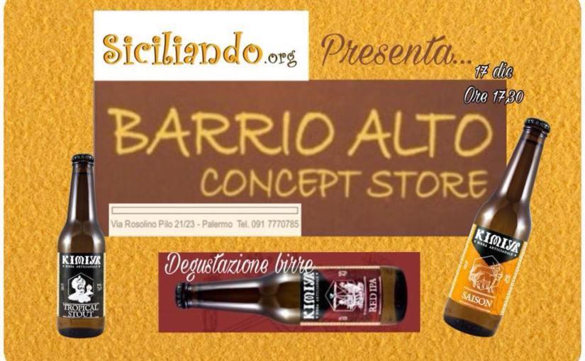 Siciliando presenta… Barrio Alto Concept Store