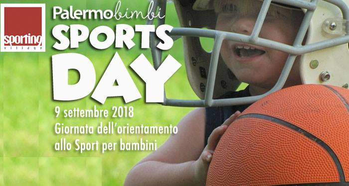 "Gli appuntamenti di Siciliando, ""Palermobimbi Sports Day"""