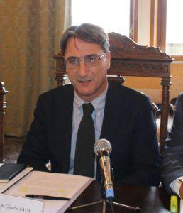 Claudio fava, vicepresidente della Commissione Nazionale  Antimafia