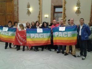 Protesta della FP Cgil a Palazzo Zanca per i disabili e le loro famiglie
