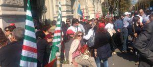 Protesta precari 29-10-2014