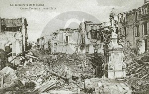 Corso Cavour , terremoto 1908