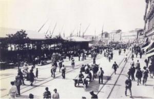 Il porto prima del terremoto
