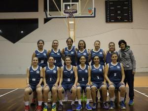 La squadra di basket del CUS Unime