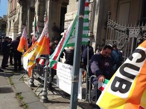 Protesta Cantieri Palumbo 30-3-2015 a