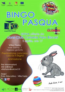 locandina bingopasqua