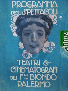 Collezione di Brochure- di opere Teatrale antiche-. 6 Settembre-2015.MIKE PALAZZOTTO