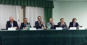 Da sinistra Roberto Cunsolo, Marcello Murabito, Sebastiano Truglio, Temistocle Bussino, Danilo Papa e Antonio Lo Faro