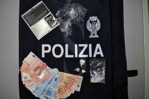 Polizia Ragusa Vittoria cocaina