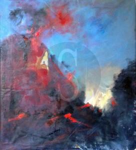 'Il vulcano' di Sebastiano Miduri