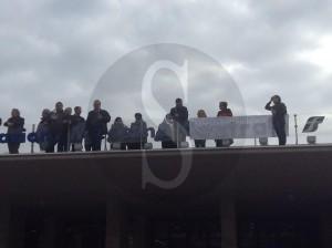 Protesta ex Ferrotel 2-12-2015