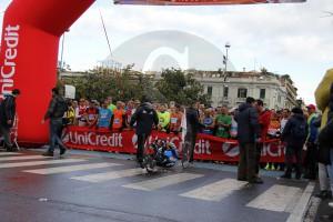 Partenza Messina Marathon 24-1-2016