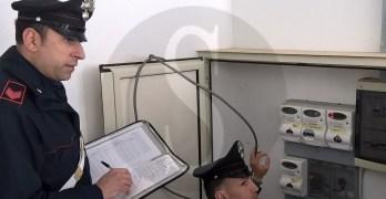 Carabinieri, controllo contatori Enel