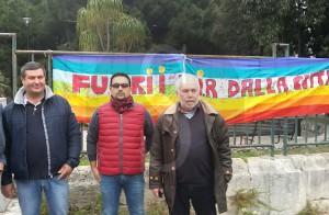 Manifestazione anti TIR 7-4-2016 d