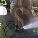 #Barcellona. In fiamme Fiat Panda a Portosalvo