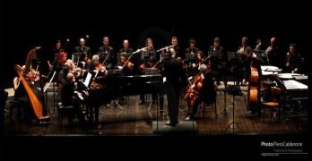 L'orchestra del teatro Vittorio Emanuele