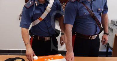 Spaccio di marijuana e cocaina a Terme Vigliatore, i Carabinieri arrestano 29enne