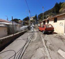 Coronavirus Messina: nuovo step di igienizzazione per le aree degradate