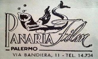 Flano o marchio della Panaria Film (Francesco Alliata Eolie 1946 riprese subacquee)