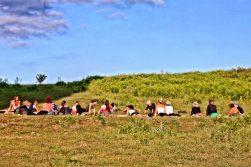 yoga in sicilia con sicily green adventures
