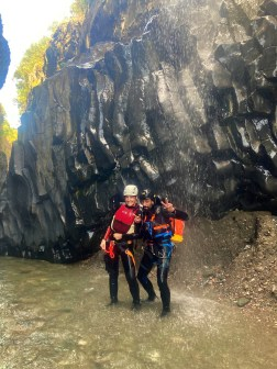Canyoning Gole Alcantara