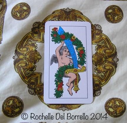 Random Photo: Sicilian playing card