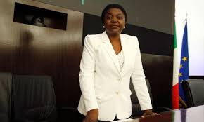 Minister Cécile Kyenge from thegardian.com