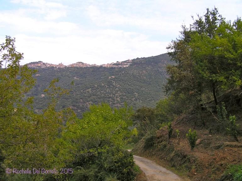 A mountain road near Ficarra