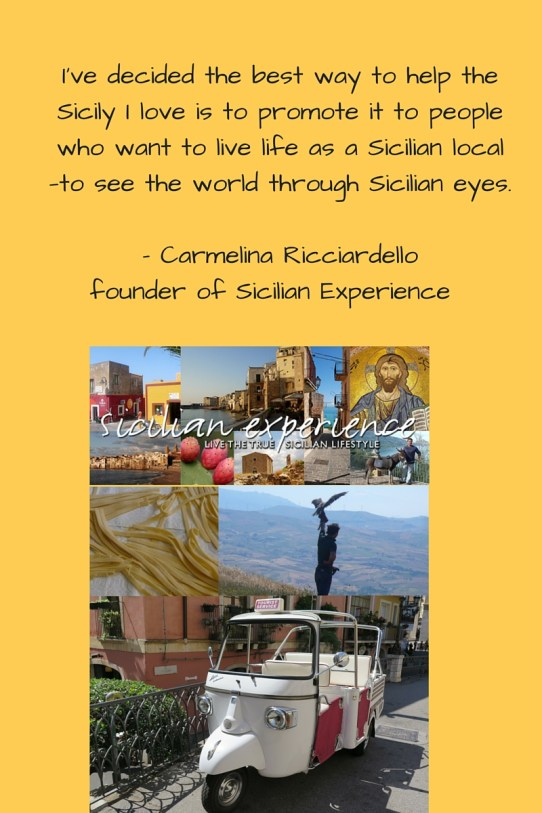 Sicilian experience quote