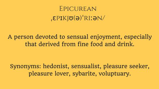 Epicurean definition