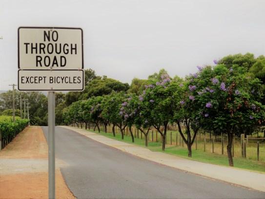 No through roads