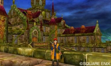 The eerie Castle Trodain.