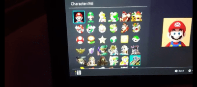Character icons ripe for the taking.