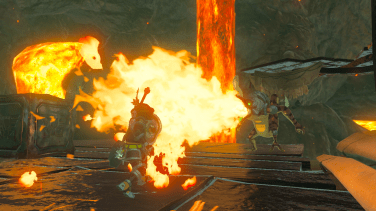 Make sure you can withstand the heat on Death Mountain!