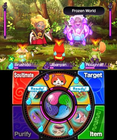 Battle Kin and Gin, the Wicked Yo-kai.