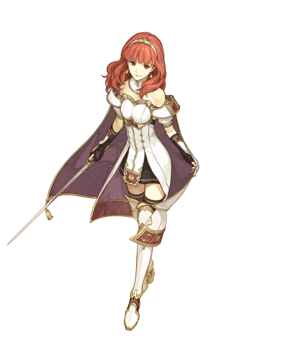Celica; the Zofian royal