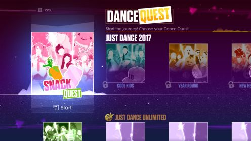 An interesting spin on Just Dance with Quests.