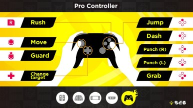 Using the pro controller gives you more precise punches.