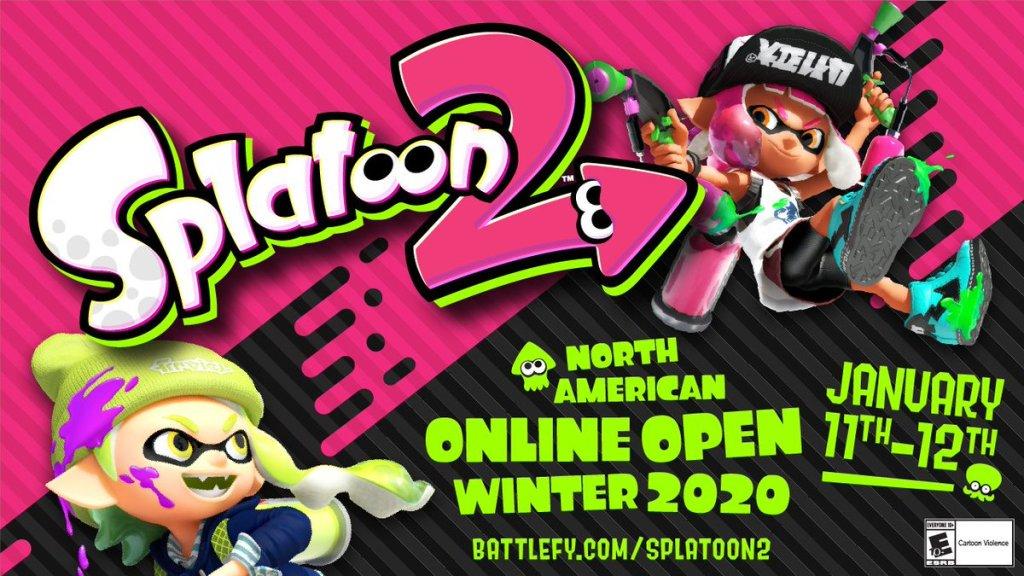 Splatoon 2 North American Online Open Winter 2020 starts on 11th January | My Nintendo ...