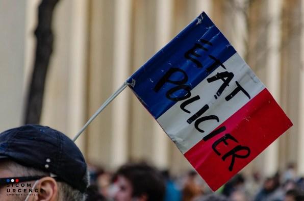 Drapeau manifestant