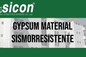 Gypsum-Sicon