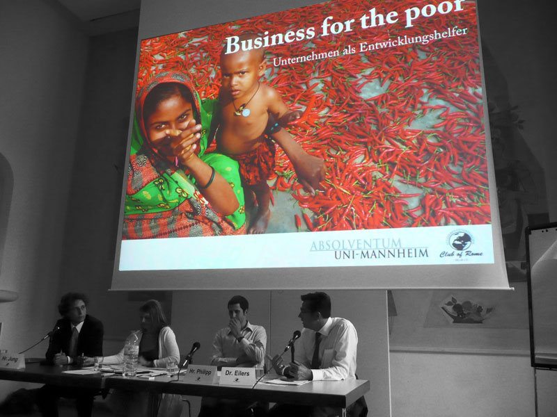 Business for the Poor - 26. Mai Uni Mannheim