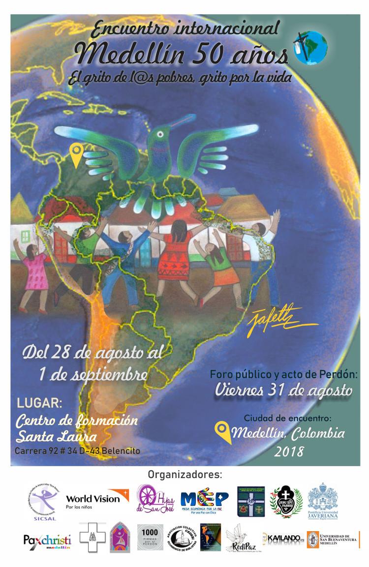 Affiche de Medellín + 50