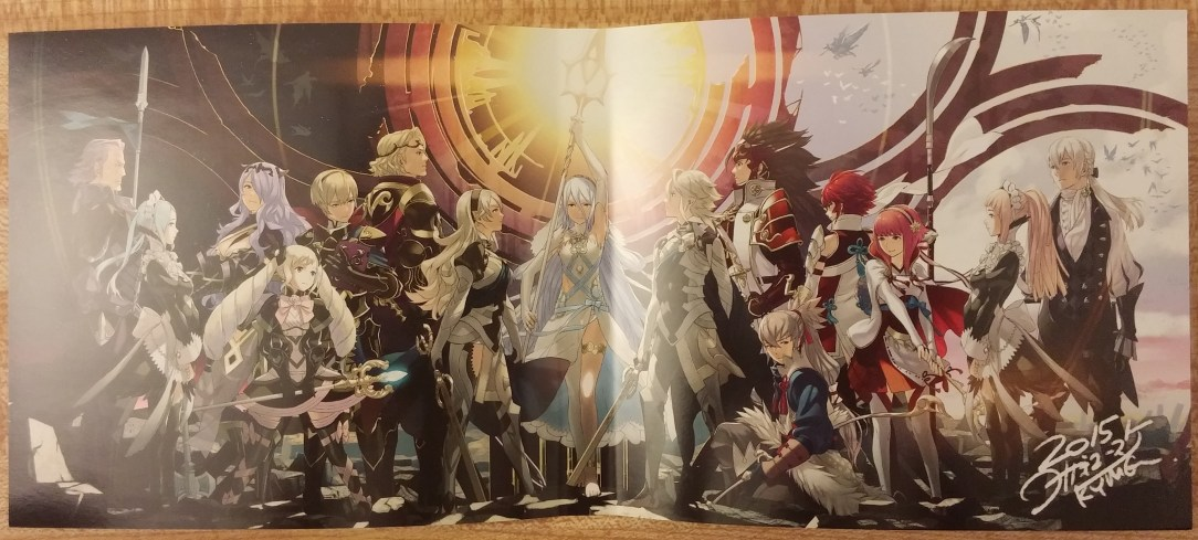 This is the reversible cover of the game.
