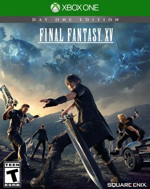 FFXV cover art